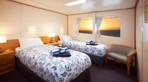 Cairns Liveaboard twin stateroom