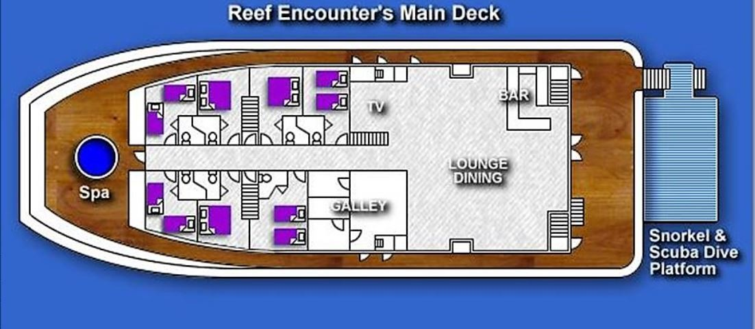 Reef Encounter deck plan